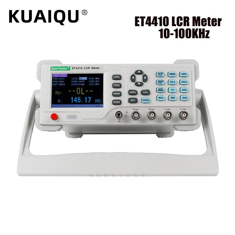 Настольный LCR Цифровой мост L CR мостовые измерители Емкость сопротивление импеданс индуктивность измерительный прибор 10 кГц 20 кГц 100 кГц