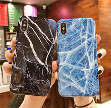 New Marble phone cover fundas For Apple iPhone XS MAX X 8 7 plus 6 6s XR cases