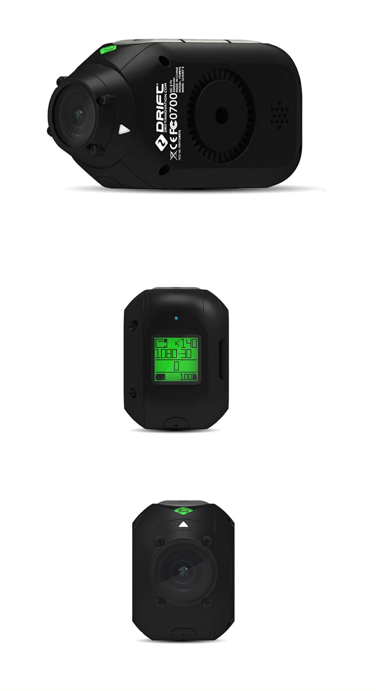 Cámara Cam fantasma X Plus MC 1080P 17