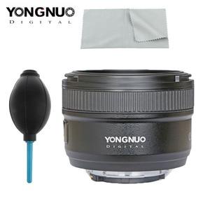 Image 2 - YONGNUO YN 50mm f1.8 AF เลนส์ YN50mm รูรับแสงอัตโนมัติขนาดใหญ่เลนส์สำหรับ Nikon D3000 D3100 D3200 D3300 D5000 DSLR กล้อง