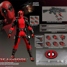 16cm Marvel Super Hero Deadpool Joint movable figure Anime Action Figure PVC New Collection figures toys(China)
