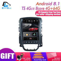 4G RAM Vertikale bildschirm android 9.0 system auto gps multimedia video radio player in dash für opel ASTRA J auto navigaton stereo