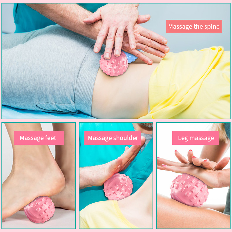 EPP Lacrosse Myofascial Exercise Ball and Peanut Massage Ball for Pain Relieve 10