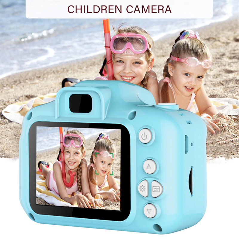 Children's Camera Waterproof 1080P HD Screen Camera Video Toy 8 Million Pixel Kids Cartoon Cute Camera Outdoor Photography Kids