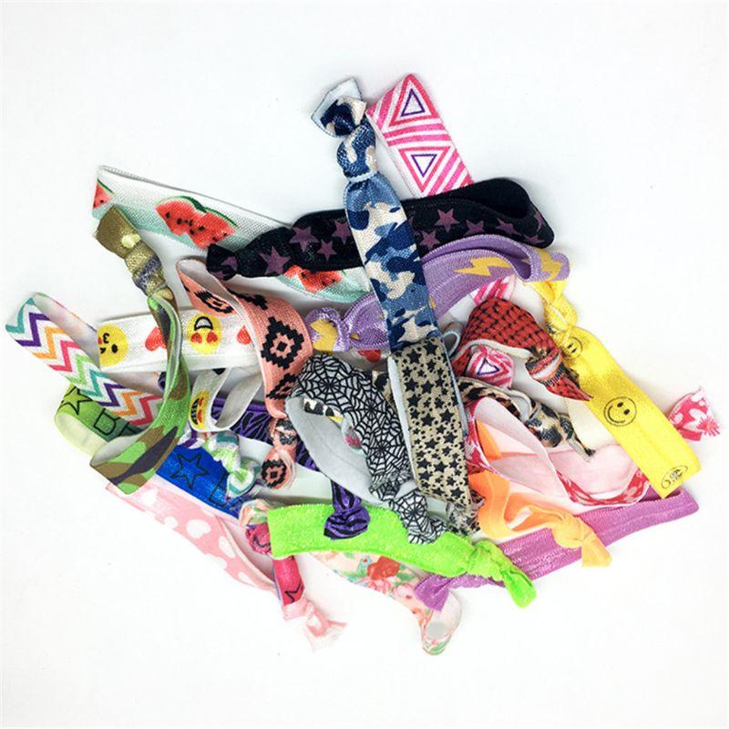 12pcs Multicolor Wristbands Bracelets Ribbon Bag Ties Party Supplies Favors Campaign Toys Adult Kids  F42E