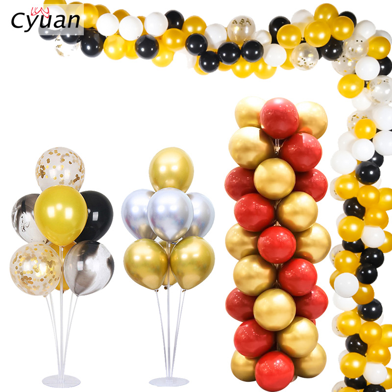 Cyuan <font><b>7</b></font> <font><b>Tubes</b></font> <font><b>Balloons</b></font> <font><b>Holder</b></font> Column <font><b>Stand</b></font> Clear Plastic <font><b>Balloon</b></font> <font><b>Stand</b></font> Birthday Party Decorations Kids Wedding <font><b>Balloons</b></font> Garlands image