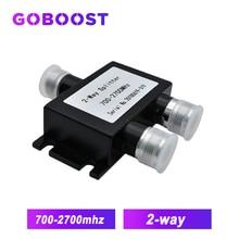 2 اتجاه السلطة الفاصل 700 ~ 2700MHz N الإناث LTE إشارة مكرر 2 طرق الفاصل ل ربط 3G 4G الإنترنت المحمول إشارة الداعم/