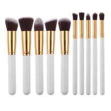 10Pcs Professional Makeup Brushes Set pincel maquiagem Cosmetics maquillaje Makeup Tool Powder Eyeshadow Cosmetic Pen makeup set pincel maquiagem cosmetics maquillaje eyeshadow eyebbrow eyeliner blending lip powder foundation cosmetic brushes