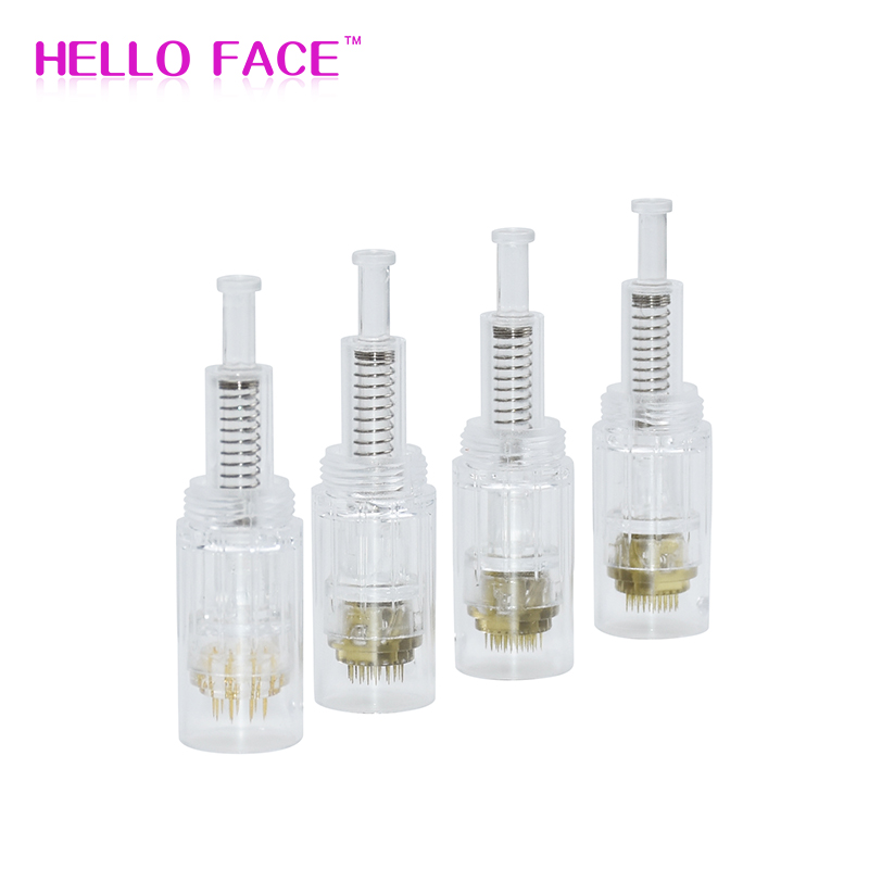 5pcs Titanium Needle Screw Derma Pen Cartridge Disposable Professional Microblading Cartridge For Electric Derma Pen