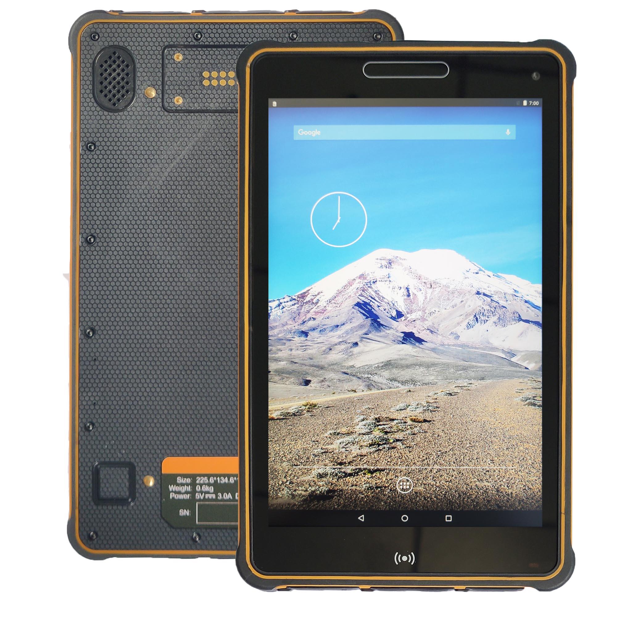 8 Polegada ultra fino industrail android 7.0 tablet robusto st8