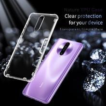 Case Voor Xiaomi Poco X2 Nillkin Natuur Tpu Clear Transparant Soft Phone Case Back Cover Poco X2/Redmi K30 met Detailhandel Pakket