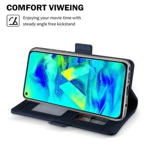 Image 5 - Için UMIDIGI A7 Pro A5 Pro kılıf lüks deri cüzdan Flip standı darbeye dayanıklı kapak için ayna ile UMIDIGI A3X durumda kart tutucu