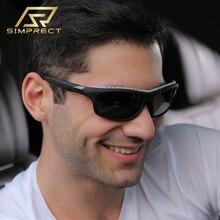 SIMPRECT Windproof Square Polarized Sunglasses Men 2020 Brand