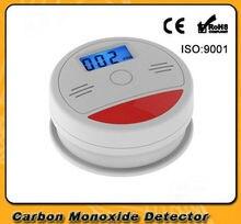 Yobang الأمن المشارك كاشف أمن الوطن إنذار سلامة LCD الكهروضوئية CO الغاز الاستشعار أول أكسيد الكربون التسمم كشاف جهاز الإنذار