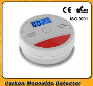 Image 1 - Yobang Security CO detector Home Security Safety Alarm LCD Photoelectric CO Gas Sensor Carbon Monoxide Poisoning Alarm Detector