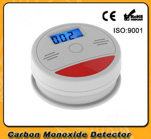 Yobang Security CO detector Home Security Safety Alarm LCD Photoelectric CO Gas Sensor Carbon Monoxide Poisoning Alarm Detector