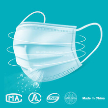 Medical Surgical Masks PM2.5 Disposable Elastic Mouth Soft Breathable Face Mask N95 anti virus Profession Medical Mask 50Pcs