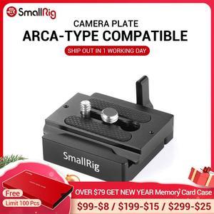 Image 1 - Smallrigデジタル一眼レフカメラプレートクイックリリースクランプとプレート (アルカ型互換) カメラアクセサリー2280