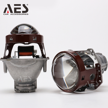 цена на AES 3 Inch M6 Bi Xenon HID Projector Lens High Low Beam 6000k D1S D2S D3S D4S Universal Car Parts Headlight Retrofit Lamp