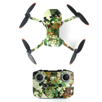 DJI Mini 2 naklejki pcv Drone ciała skóry ramię ochronne pilot Protector dla DJI Mavic Mini 2 akcesoria tanie i dobre opinie SUNNYLIFE CN (pochodzenie) 7 7g skin 22*17cm