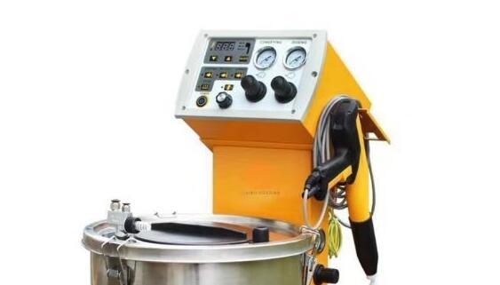 2020 Electrostatic Powder Coating Machine With 2 Hopper