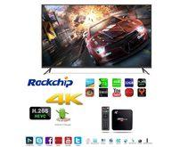 [Anewish m8s plus] rusmedia 4k caixa completa hd android para smart tv rápido estável