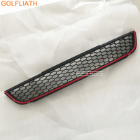 GOLFLIATH GLI style ABS Honeycomb Mesh Lower Front Grille bumper Grill for vw volkswagen Jetta mk6 2012 2015