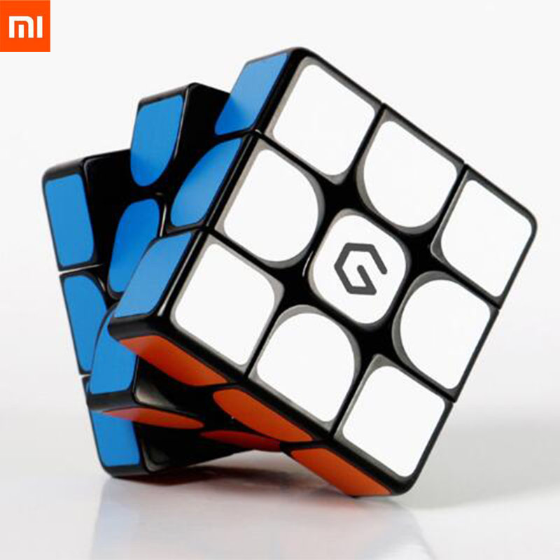 Xiaomi Mijia Giiker M3 Magnetic Cube 3x3x3 Vivid Color Square Magic Cube Puzzle Science Education Work With Giiker App Kids Gift