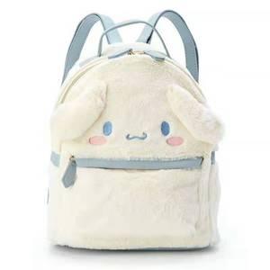 Image 4 - Cinnamoroll benim Melody küçük peluş sırt çantası sevimli karikatür kulaklar pembe deri sırt çantası Mini genç kızlar için sırt çantası sırt çantası