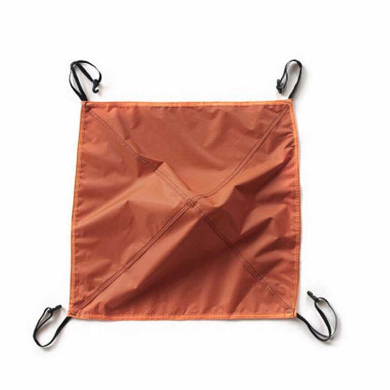 خفيفة قماش القنب في الهواء الطلق التخييم الشمس المأوى الظل غير نافذ للمطر المظلة طلاء مقاوم للماء خيمة للشاطئ رئيس القماش