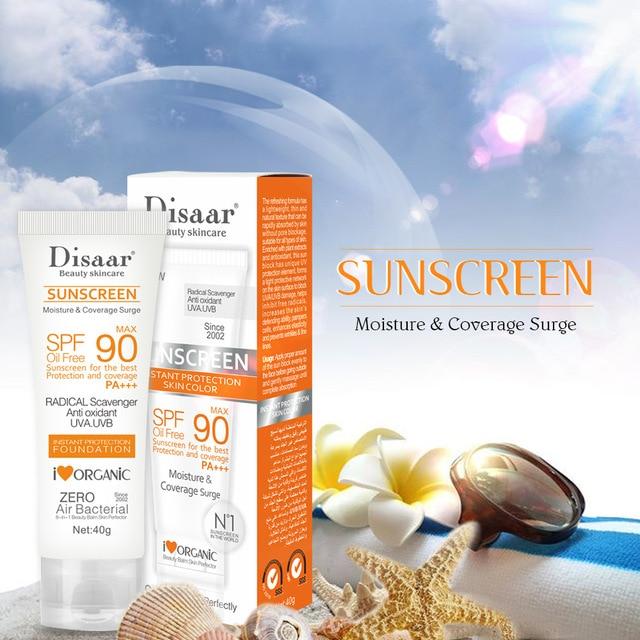 Facial Body Sunscreen Whitening Sun Cream Sunblock Skin Protective Cream Anti-Aging Oil-control Moisturizing SPF90 Face 2