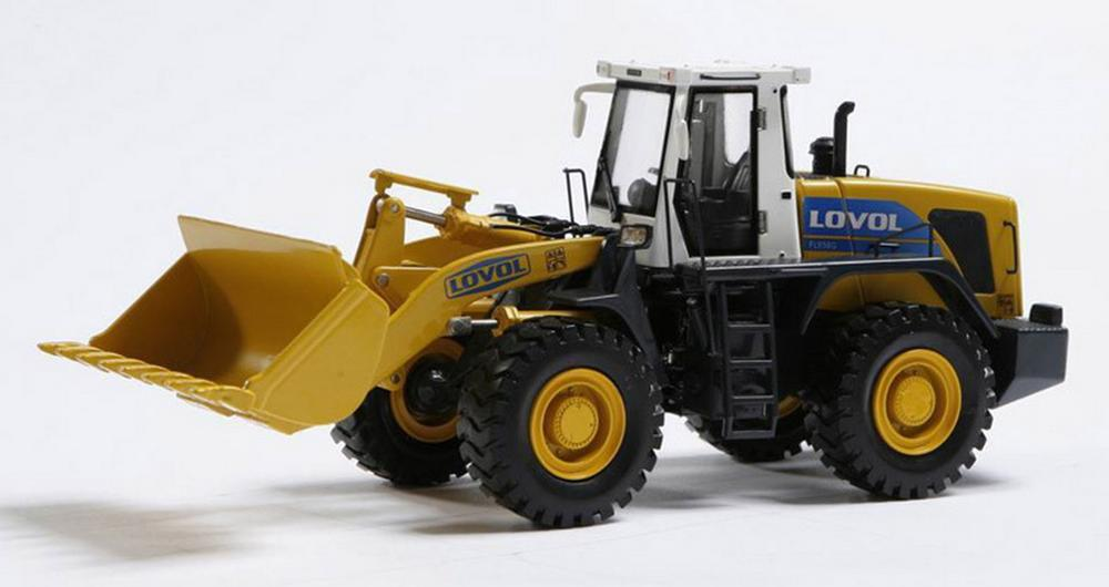 1/35 Scale FOTON LOVOL FL958G Wheel Loader DieCast Model Collection Toy Gift