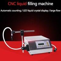 Máquina de enchimento automática da água mineral do enchimento da garrafa de leite do perfume do óleo da água do cnc 1.5 litros de bebida