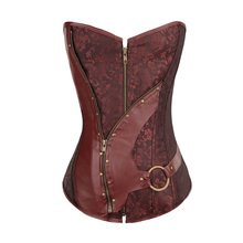 2019 Sexy Plus Size Gothic Retro Style Court Corsets Sexy Corset Unitard Embroidery Top Performance Clothing for Body Shaper