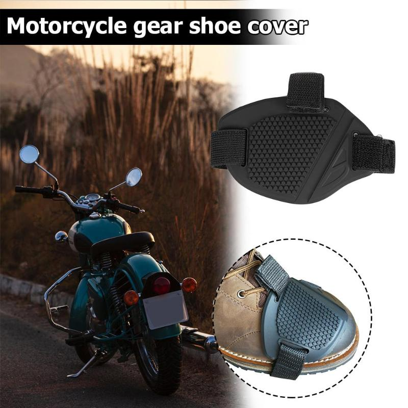 Universal Motorcycle Shoes Protector TPU Rubber Non-slip Gear Shifter Shoes Boot Protector Shift Sock Boots Cover Shifter Guards