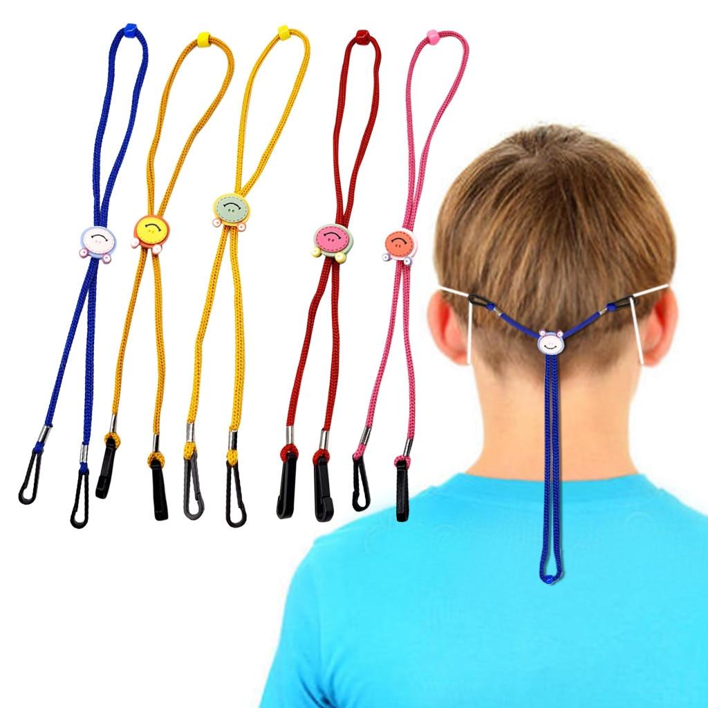 5Pcs Children Mask Lanyard Adjustable Handy Convenient Safety Masks Rest&Ear Holder Rope For Kids sujeta mascarillas salvaorejas(China)
