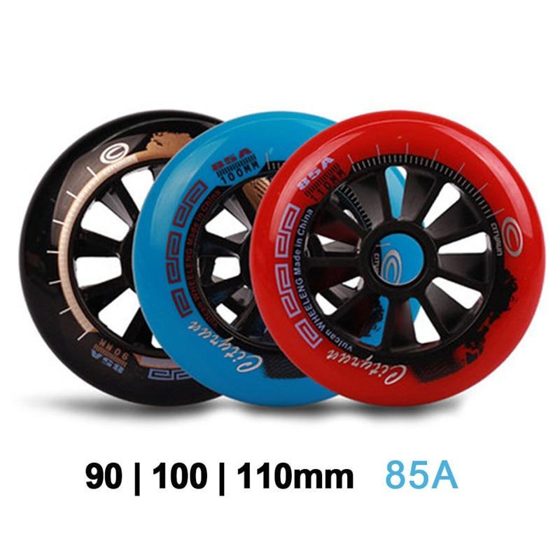 [90mm 100mm 110mm] Cityrun 85A Inline Speed Skates Wheels Professional  Skating Roller For Kid Adult Patins  2 PCS/SET
