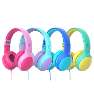 Image 2 - Gorsun E61 Child Headphone bluetooth5.0 Bass headset stereo cat ear earbuds Foldable 3,5mm AUX for phone MP4 for girl boy gift