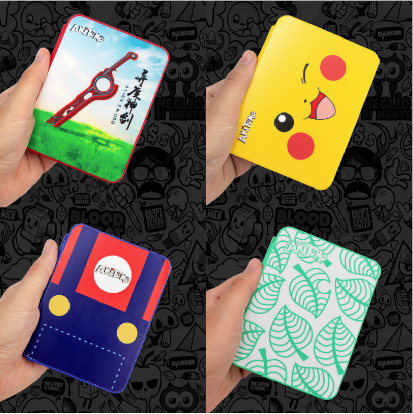 16 in1 NS Switch Game Card Case Pattern Hard Protective Cover Storage Box for Nintendo Switch Console Game Memory SD Card Holder