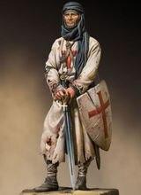 1/18 90mm oude officier Warrior met base Resin figuur Model kits Miniatuur gk Unassembly Unpainted