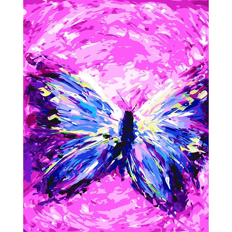 RUOPOTY Frame Abstract butterfly dance DIY Painting By Numbers Modern Handpainted Art Children adults By Kits Decoration Gift-0
