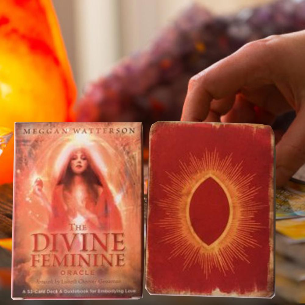 2020 Energy Oracle Cards Deck, 53 Cards, Tarot Cards Guidance -divination Fate Mysterious Board Game