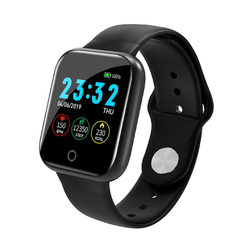 Smart Watch I5 Heart Rate Monitor IP67 Waterproof Fitness Tracker Blood Pressure Cycling Smartwatch for iOS Android PK B57