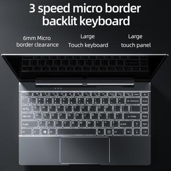 Dere V14S 14.1inch Laptop Intel Celeron N5095 DDR4 12GB RAM 512GB SSD Backlit Keyboard Windows 10 1920×1080 Computer PC Notebook 4