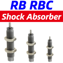 Free Shipping Pneumatic Hydraulic Shock Absorber Adjustable Hydraulic Buffer RB series RB0805 RB1007 With cap RBC1007 RBC2725