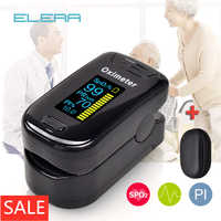 ELERA Oximetro De Dedo Finger-pulsoximeter Blut Sauerstoff Saturometro SPO2 PR Oxymeter De Pulso Tragbare Saturator Pulsioximetro