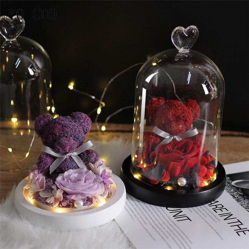 Teddy-Bear-Ewige-Erhalten-Rose-Guardian-Bear-Immortal-Flora-Led-Licht-Rose-In-Glass-Mother-s (1)