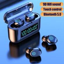 TWS Bluetooth Earphone Wireless Headphones Stereo Sport Mini Earbuds Touch Wirel