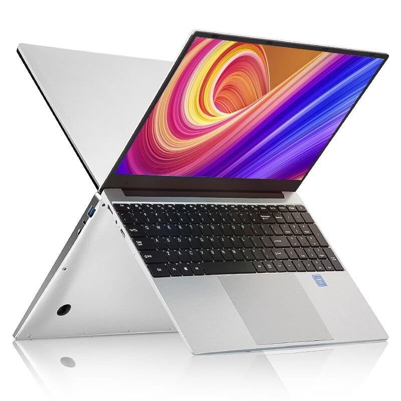 15,6 дюймов i7 Игровые ноутбуки с 8G ram 1 ТБ 512G 256G 128G SSD ноутбук ультрабук двухдиапазонный wifi Win10 ноутбук компьютер