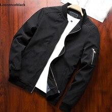 Мужская куртка бомбер, тонкая приталенная бейсбольная куртка с длинным рукавом, ветровка на молнии, женская верхняя одежда, брендовая одежда 6580